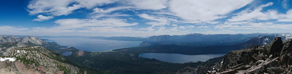 Mt. Tallac Panorama II thumb