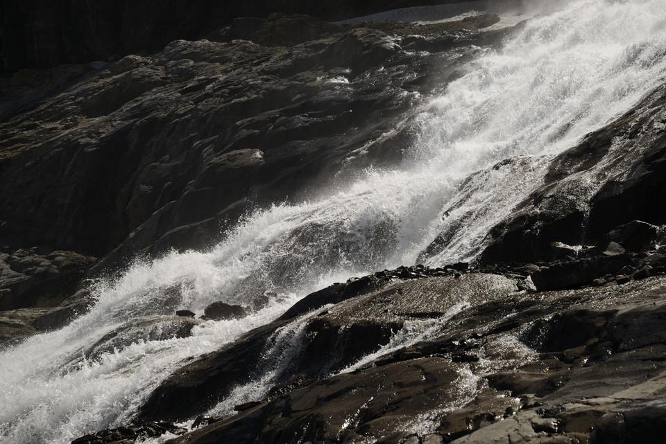 Bow Lake   Bow Glacier Falls II thumb